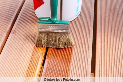 Bangkirai-Holz imprägnieren