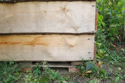 Schnellkomposter aus Holz