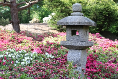 Japanische Steinlampe