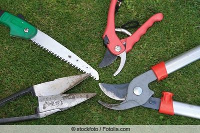 Verschiedene Schneide-Werkzeuge