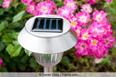 Solarleuchte mit LED