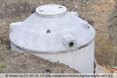 Regenwassertank - Betonzisterne