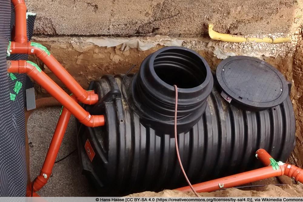 Regenwassertank - Kunststoffzisterne