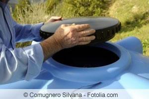 Wassertank-Öffnung