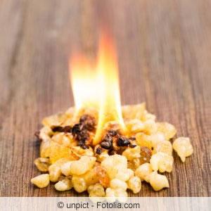 Brennendes Weihrauch