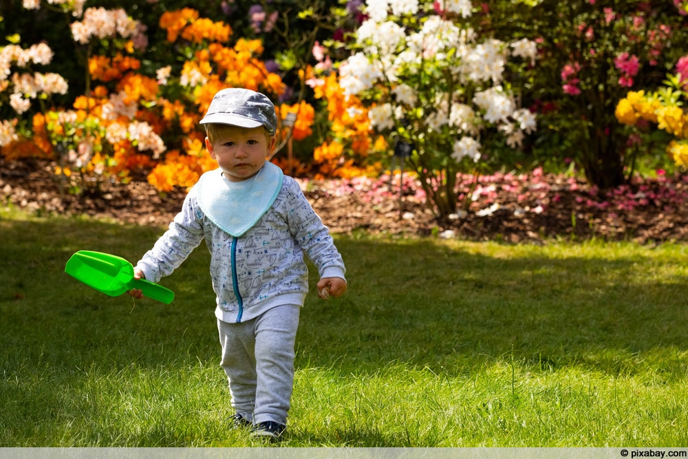 Kinderfreundlicher Garten