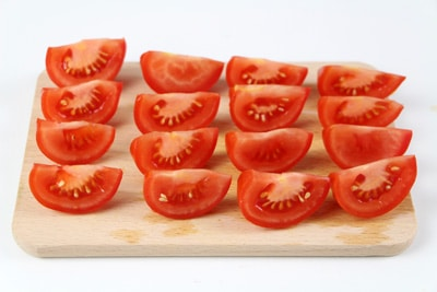 Tomaten Stücke