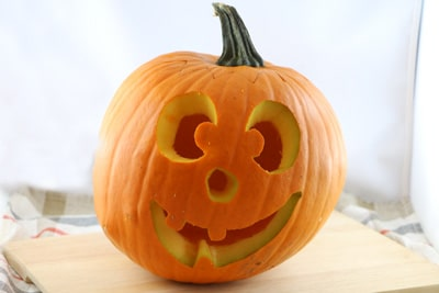 Halloweenkürbis Gesicht