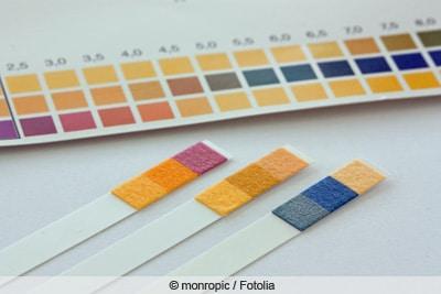 Teststreifen für pH-Wert