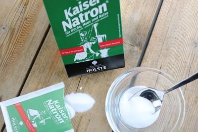 Natron als Reinigungsmittel