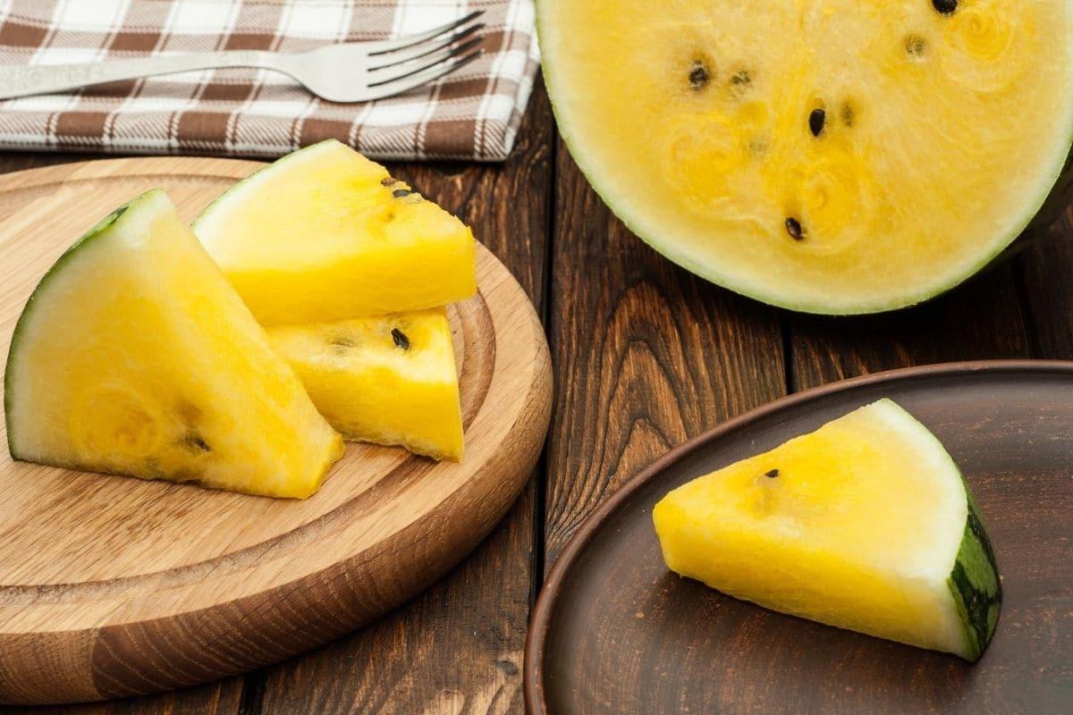 gelbe Melone