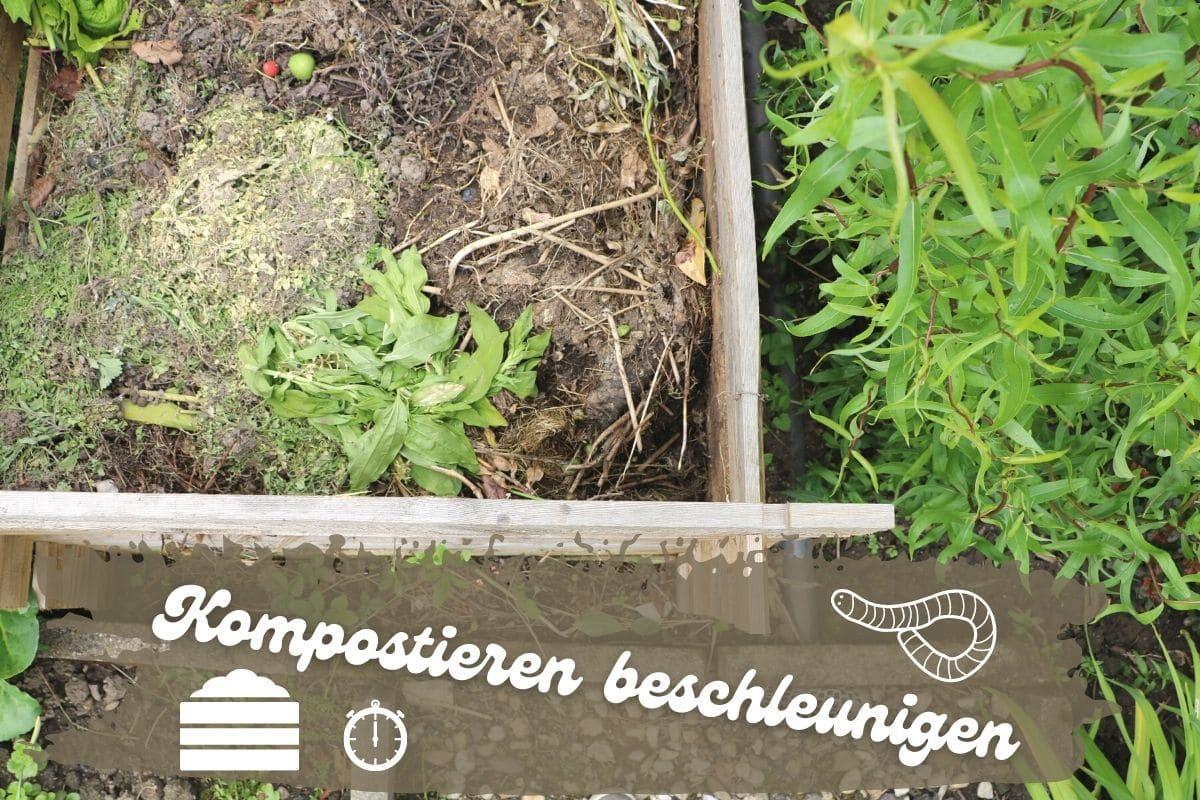 Kompostieren beschleunigen