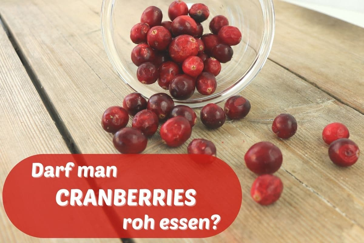 Cranberries roh essen