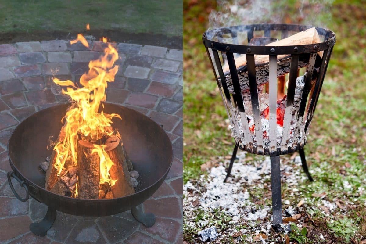 Feuerschale - Feuerkorb