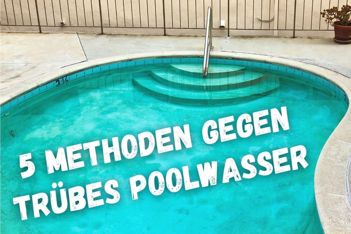 Milchig pool brunnenwasser Wasser Im