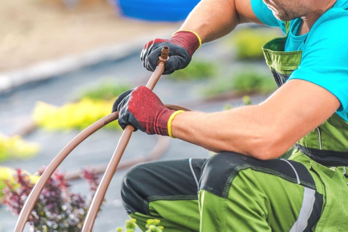 Prüfen des Bewässerungssystems